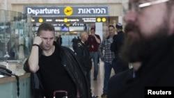 فرودگاه بن گوریون در تل آویو- عکس آرشیوی است.