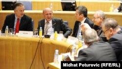 Sa jednog od sastanaka o provedbi presude Sjedić -Finci