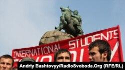 Громадські актвісти протестували проти комерціалізації освіти