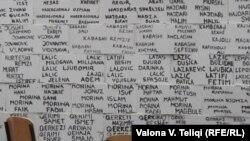 Имиња на исчезнати луѓе од Косово