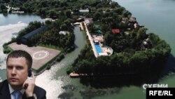 «Схеми» виявили, що частина узбережжя Дунаю у Вилковому оформлена на Ігоря Рибакова, його родину та помічника