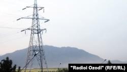 Высоковольтная линия электропередачи (ЛЭП).