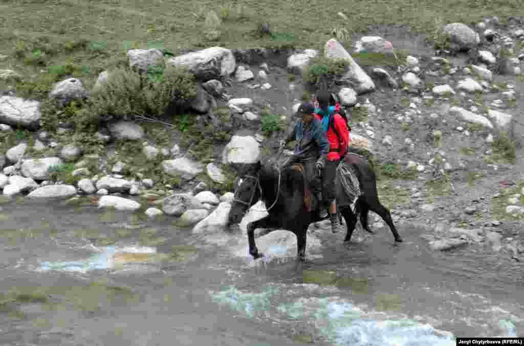 Иссык-Куль. Ущелье Курмонтуу
