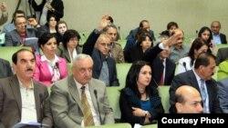 جلسة برلمان كردستان العراق للتصويت على قانون الموازنة
