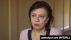 Armenia - Diaspora Minister Hranush Hakobian, 29Jul, 2015