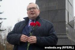 Аляксандар Дзядзінкін - першы сакратар Віцебскага абкама КПБ, дэпутат і дырэктар ВНУ