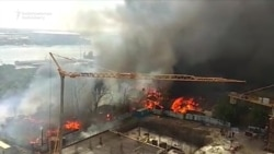 Deadly Fire Destroys Homes In Russian City Of Rostov