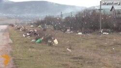Власти Крыма не решают проблему с мусором на полуострове
