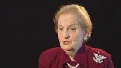 Madeleine Albright për Kosovën