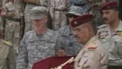 Iraqis Celebrate Security Handover
