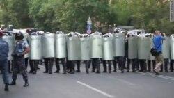 Проспект Баграмяна в ожидании штурма