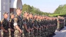 Клятвы курсантов Приднестровья