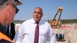 Бойко Борисов на посещение на строителството на Турски поток в компанията на представители на Саудитска Арабия, 23 септември 2020 г.