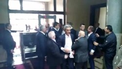 Skupština Crne Gore: Incident sa poslanicima DF-a