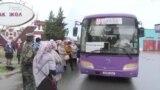 Жалал-Абад: автобус күткөн дарыгерлер