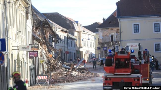 Zemljotres u Hrvatskoj, epicentar u Petrinji