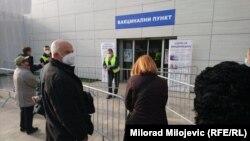 Vakcinacija u Banjaluci za starije od 65 godina, 29. mart, 2021.