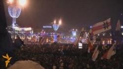 Кастрычніцкая плошча 19.12.2010 каля 20-30
