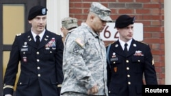 The U.S. Army postponed until 2017 its court-martial of Sergeant Bowe Bergdahl (right) for leaving his post in Afghanistan.