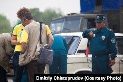 Өзбек полициясы. (Көрнекі сурет)