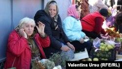 La piață la Ungheni