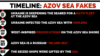 Planul de dezinformare pe termen lung al Rusiei pentru Marea Azov