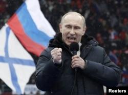 Vladimir Putin, 23 fevral 2012