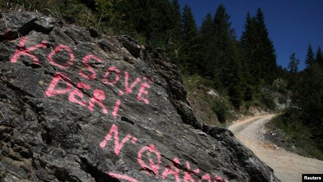 Mbishkrim pranë kufirit me Malin e Zi