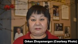 Сотрудница краеведческого музея Экибастуза Дарига Токаева. 21 ноября 2012 года.