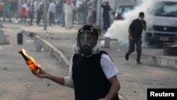 صحنهای از درگیریهای پیشین معترضان شیعه با پلیس در بحرین