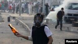 Pamje nga protestat e mëparshme në Bahrejn