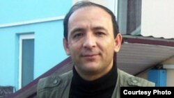 "Khurshed Atovullo, the editor of the independent Tajik weekly ""Farazh."""