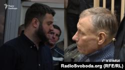 Підозрювані у справі «рюкзаків Авакова» Олександр Аваков та Сергій Чеботар
