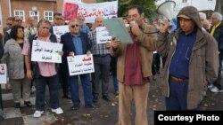 عراقيون في الدانمارك يتجمعون تضامناً مع أبناء الشعب العراقي