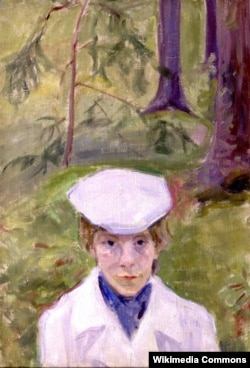 Портрет Елены Гуро, Михаил Матюшин, 1910 год
