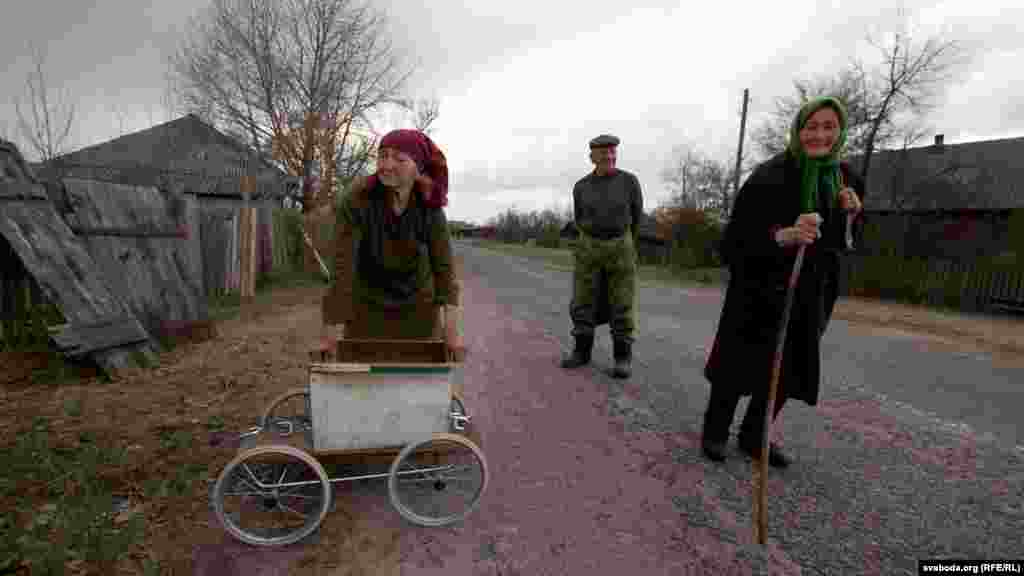 Палова жыхароў вёскі