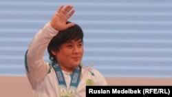 Жазира Жаппаркул, казахстанская спортсменка.