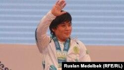 Жазира Жаппарқұл, қазақстандық ауыр атлет.