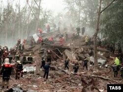 После взрыва на Каширском шоссе, 13 сентября 1999 г.