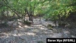 Русло реки Узунджа в одноименном каньоне