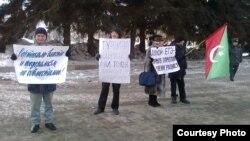 Татар иҗтимагый үзәге пикеты, 21 февраль 2012