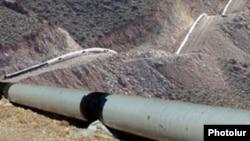 Газопровод из Ирана в Армении.