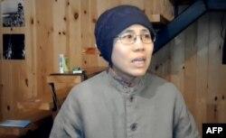 Liu Xia in 2012