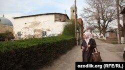 Мечеть в Старом городе Ташкента, архивное фото.