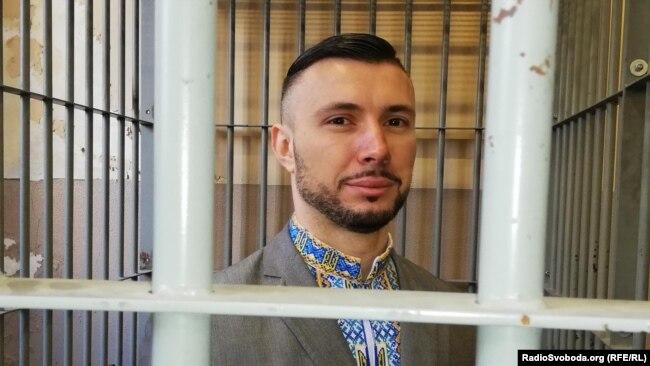 Віталій Марків, нацгвардієць, суд в місті Павія