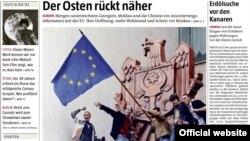 Imagine din cotidianul Tageszeitung
