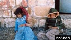 دو قربانی کودک در حلبچه