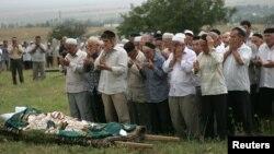 Похороны Натальи Эстемировой