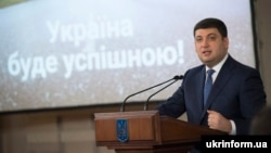 Володимир Гройсман під час зустрічі зі студентами КПІ