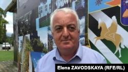 Начальник Управления сельского хозяйства администрации района Тамаз Цвижба